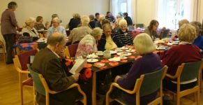 Poppy Day Tea guests
