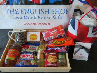 English Shop hamper